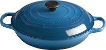 Non Toxic Bakeware - Le Creuset Signature Enamled Cast Iron 3.5 Qt Round Braiser