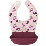 Non Toxic Feeding Bib - Kushies Baby Silisoft Bib With Silicone Pocket