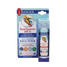 Non Toxic Baby Sunscreen - Badger SPF 35 Sport Sunscreen Face Stick