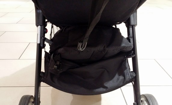 Baby Jogger City Tour Review - Storage Basket Rear View