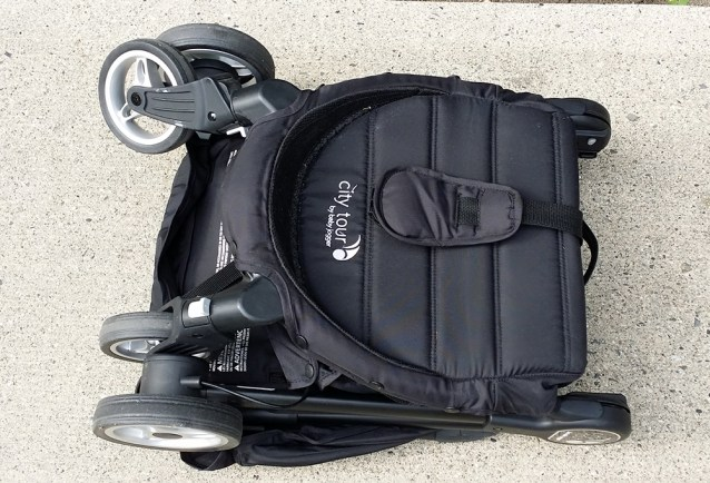 Baby Jogger City Tour Review - Stroller Folded