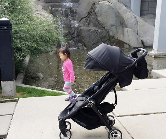Baby Jogger City Tour Review - Stroller Side View