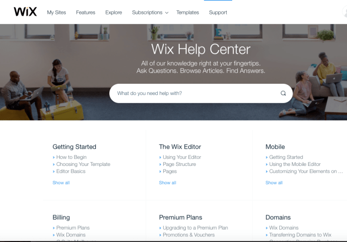 Wix VS WordPress - Wix Help Center