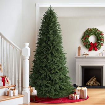 Non Toxic Christmas Tree - Balsam Hill Stratford Spruce Artificial Christmas Tree
