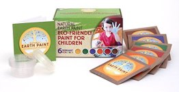Non Toxic Art Supplies - Natural Earth Paint Children's Earth Paint Kit