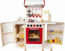 Non Toxic Toddler Toys - Hape Multi-function Kitchen