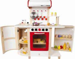 Non Toxic Toddler Toys - Hape Multi-function Kitchen