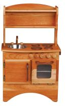Non Toxic Toys For Toddlers - Camden Rose A Simple Hearth Cherry Wood Play Kitchen