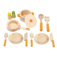 Non Toxic Toys For Toddlers - Hape Gourmet Play Kitchen Wooden Play Set