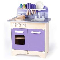 Non Toxic Toys For Toddlers - Hape Kitchen Playset With 13 Toy Kitchen Accessories