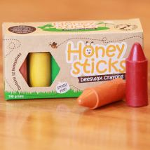Non Toxic Toys For Toddlers - Honeysticks Beeswax Crayons
