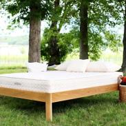 Non Toxic Mattress - Savvy Rest Earthspring Natural innerspring mattress with recycled-steel spring