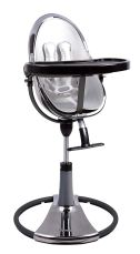 Non Toxic High Chair - Bloom Fresco Chrome Contemporary Baby High Chair