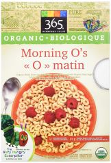 Healthy Snacks For Kids - 365 Everyday Value Organic Morning O's