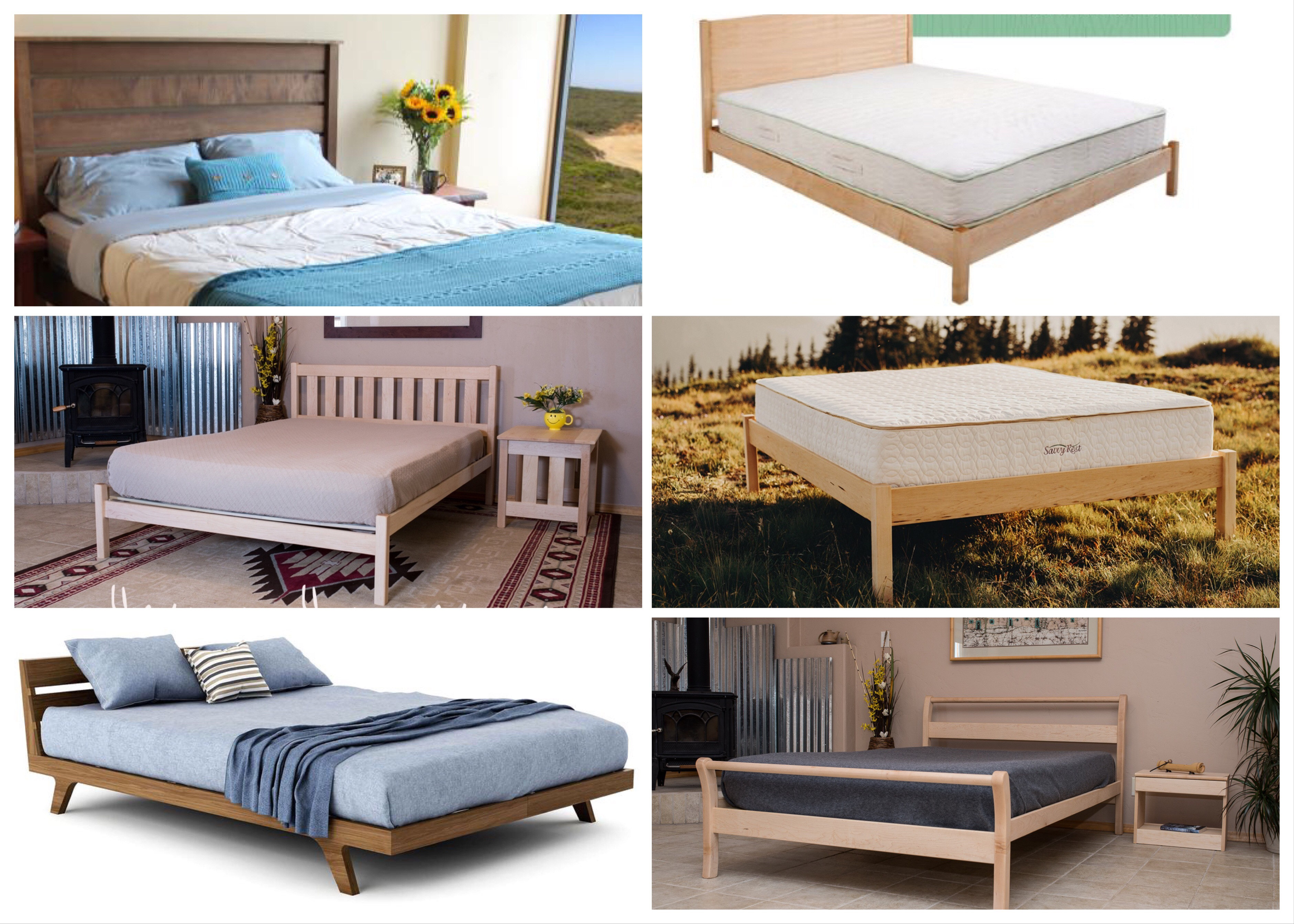 Solid Wood Bed Frame What To Look For When Buying A Solid Wood Platform Bed