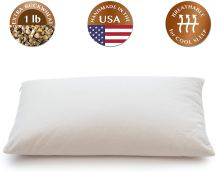 Organic Pillows - ComfyComfy Buckwheat Hull Pillow