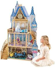 Non Toxic Gifts For Preschoolers - KidKraft Disney Princess Cinderella Royal Dreams Dollhouse