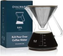 Non Toxic Coffee Maker - Ovalware Pour Over Coffee Dripper Maker