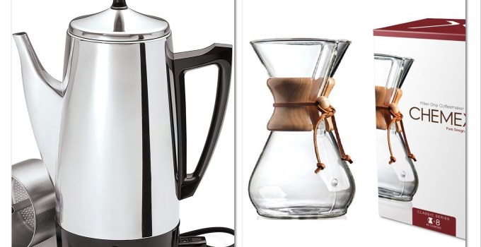 Plastic Free Coffee Maker