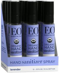 Organic Sanitizer - Eo Hand Sanitizer Spray Organic Lavender