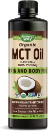 Healthy Cooking Oil - Nature's Way Organic MCT Oil From Coconut