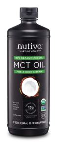 Healthy Cooking Oil - Nutiva Organic MCT Oil