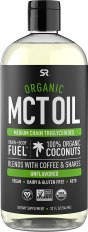 Healthy Cooking Oil - Sports Research Organic MCT Oil derived from ONLY Coconut