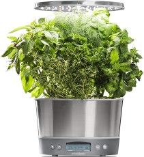Indoor Garden Kit - AeroGarden Harvest Elite 360 Stainless Steel