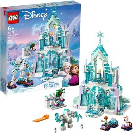 Non Toxic Gifts For Preschoolers LEGO Disney Princess Elsa's Magical Ice Palace 43172 Toy Castle Building Kit with Mini Dolls