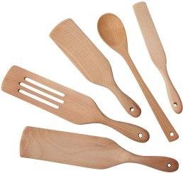 Non Toxic Cooking Utensils - Moliy Wooden Cooking Utensil Set