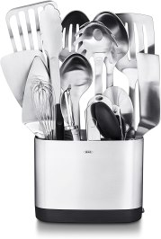 Non Toxic Cooking Utensils - OXO SteeL 15 Piece Utensil Set