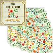 Non Toxic Food Wrap - KYNDLY Organic Cotton Beeswax Food Wrap
