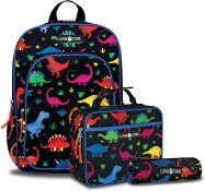 Non Toxic Kids Backpack - LONECONE Kids' 3-Piece Back to School Kit - Backpack, Lunchbox & Pencil Case