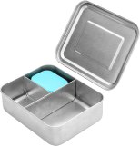 Non Toxic Kids Lunch Box - WeeSprout Stainless Steel Lunch Box