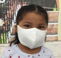 Organic Kids Face Masks - Groceries ApparelKids Organic Cotton Face Mask