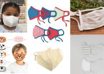 organic kids face masks