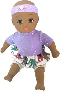 Natural Rubber Baby Dolls - Ecobaby Dolls Baby Brooke