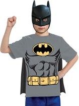 Non Toxic Halloween Costumes For Kids - Justice League Child's Batman 100% Cotton T-Shirt