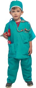 Non Toxic Halloween Costumes For Kids - Prextex Child's Halloween Doctor Dress up Surgeon Costume Set and Accessories