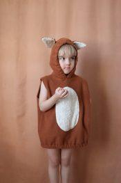 Non Toxic Halloween Costumes For Kids - PuludesignCo Organic Cotton Fox Costume
