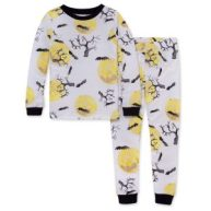 Non Toxic Halloween Pajamas - Burt's Bees Organic Cotton Pajamas Halloween Eve