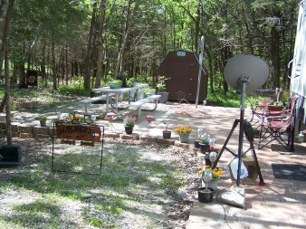 11) Our Camp Site
