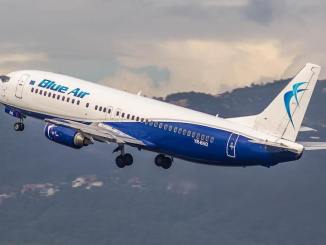 Aeronavă Blue Air. FOTO Facebook