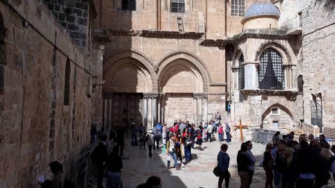 Biserica Sfântului Mormânt de la Ierusalim. FOTO Alina Giurgiu