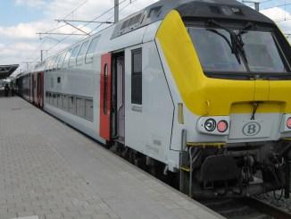 Tren în Belgia. FOTO Smiley.toerist