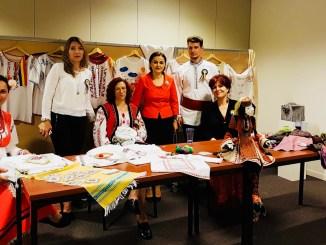 Tradiții populare din Tulcea, promovate la Bruxelles. FOTO AMDTDD