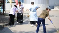 """Angajații CMSN s-au alăturat ampaniei """"Let's Do It Romania"""". FOTO CMSN"""