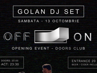 Golan DJ Set la Doors Club Constanța