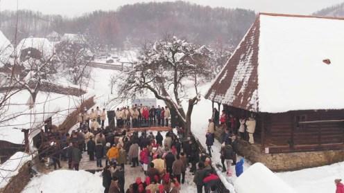 Tradițiile de Crăciun din zona Maramureșului. FOTO Facebook/Crăciun în Maramureș