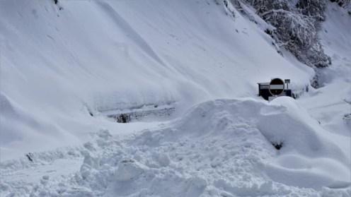 Zăpada a pus stăpânire Sarmisegetuza Regia. FOTO Administrația Sarmisegetuza Regia